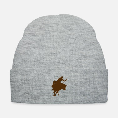 Western Riding Bull Riding 2 - Knit Cap