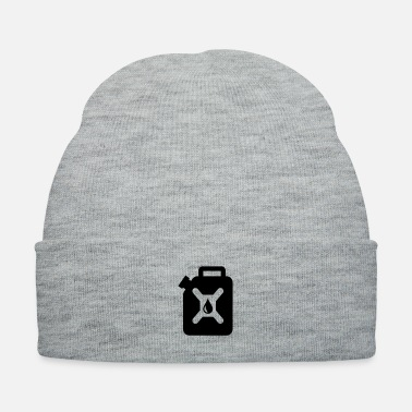 gas can gasoline canister - Knit Cap