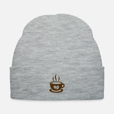 Cappuccino coffee beans - Knit Cap