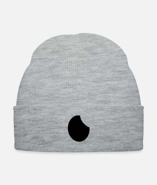 Watch TV Caps & Hats - Moon - Knit Cap heather gray