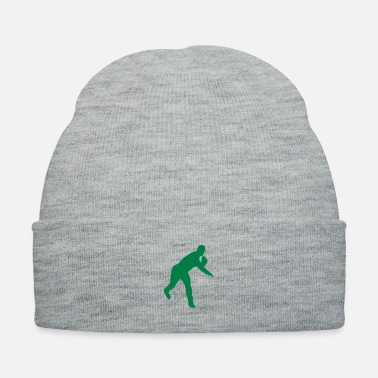 Pitcher Baseball pitcher throwing a pitch - Knit Cap