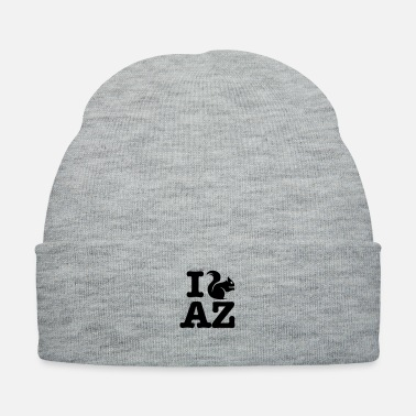 Plain I squirrel AZ plain - Knit Cap
