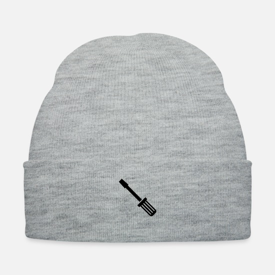 Mechanic Caps - Screwdriver - Knit Cap heather gray