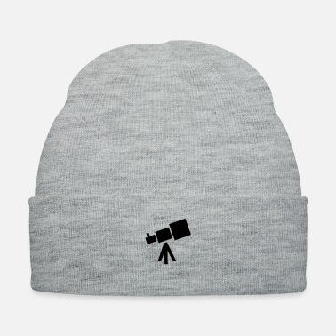 Spaceman telescope - space - astronomy - Knit Cap