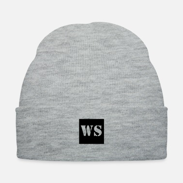 Law Enforcement War Stories Initials Logo - Knit Cap