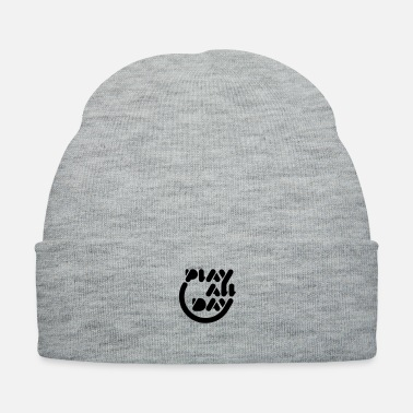Carp Play All Day - Knit Cap