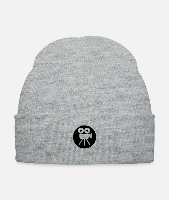 Play Caps & Hats - film_kamera_f1 - Knit Cap heather gray