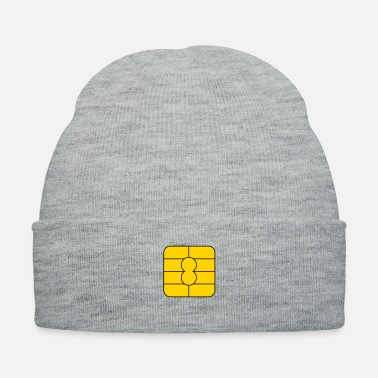 Credit microchip credit card_m1 - Knit Cap