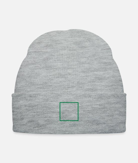 Design Caps & Hats - rahmen_f1 - Knit Cap heather gray