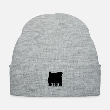 Name Oregon Shape Name - Knit Cap