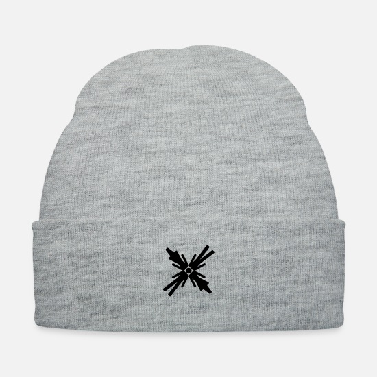 Symbol  Caps - Gender Equality - Knit Cap heather gray