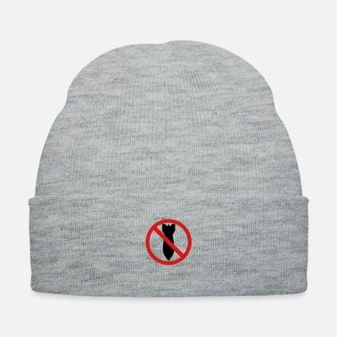 Against Against war, don t drop bombs - Knit Cap