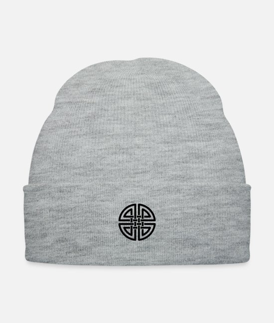 Viking Caps & Hats - Celtic - Knit Cap heather gray