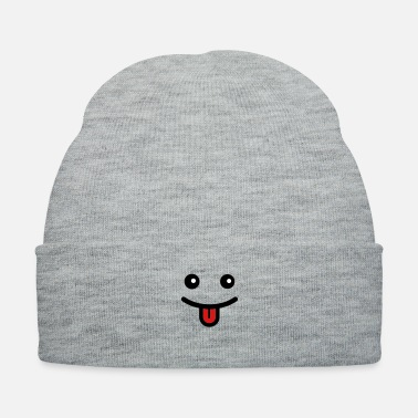 Tongue lustigesgesicht_3c - Knit Cap