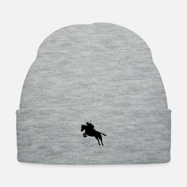 Show Jumping show jumping equestrian - Knit Cap