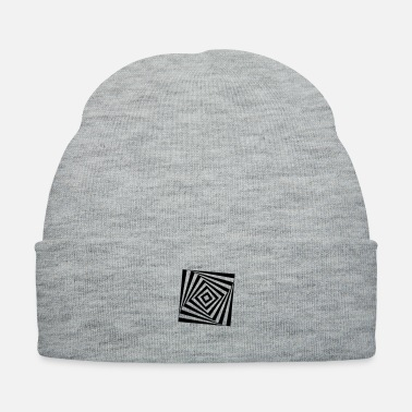 Rectangle rotating rectangle - Knit Cap