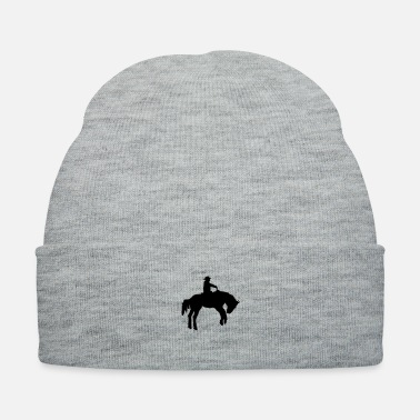 Western Riding western horse - Knit Cap