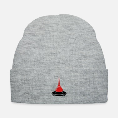 Spaceman berlin ufo television tower germany - Knit Cap