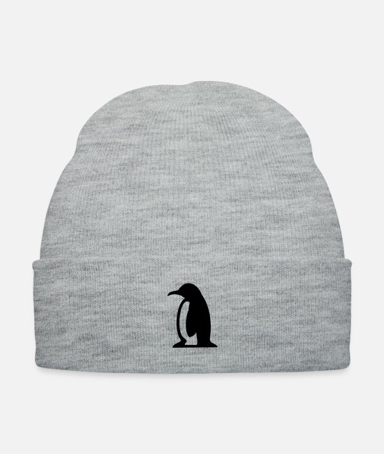 Beak Caps & Hats - Penguin - Knit Cap heather gray