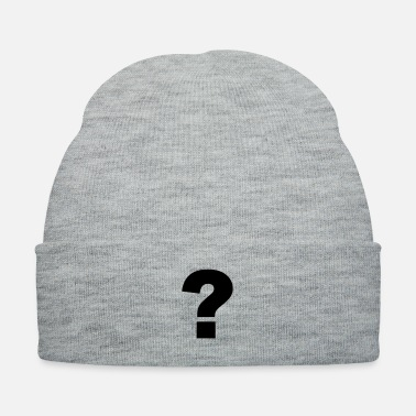Mark Something question mark - Knit Cap
