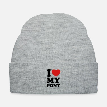 Pony I love my pony - Knit Cap