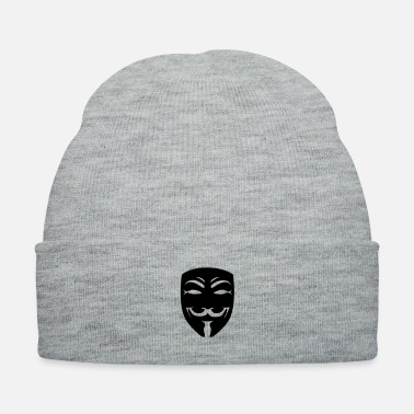 Anonymous anonymous mask one color - Knit Cap
