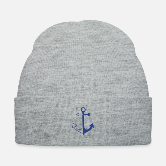 Fisherman Caps - anker_2f1 - Knit Cap heather gray