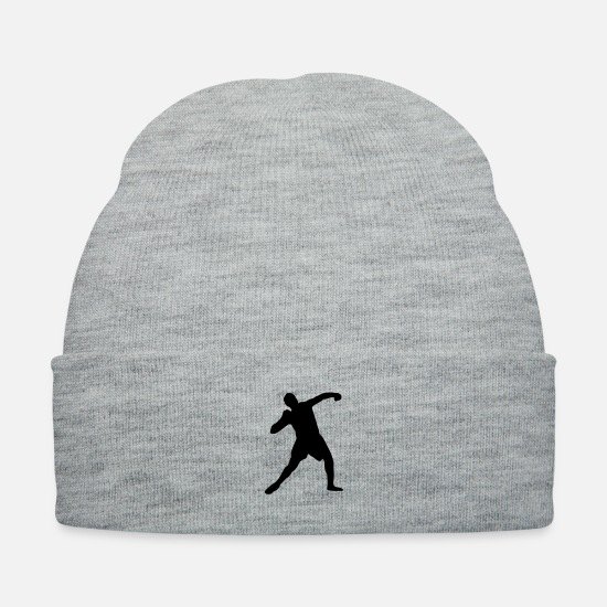 Field Caps - Shot put, track and field - Knit Cap heather gray