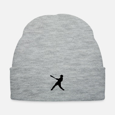Hits baseball hit - Knit Cap