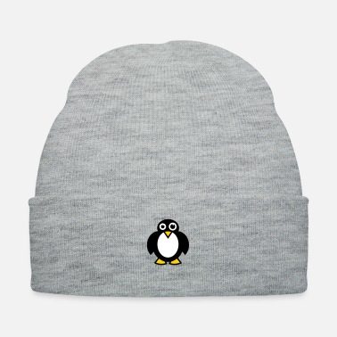 Animal Welfare funny fat penguin animal south pole - Knit Cap