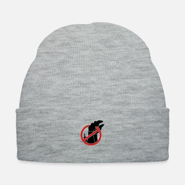 Against Against nuclear power - Knit Cap