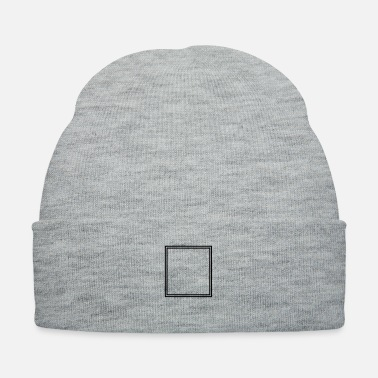 Square Square shape - Knit Cap