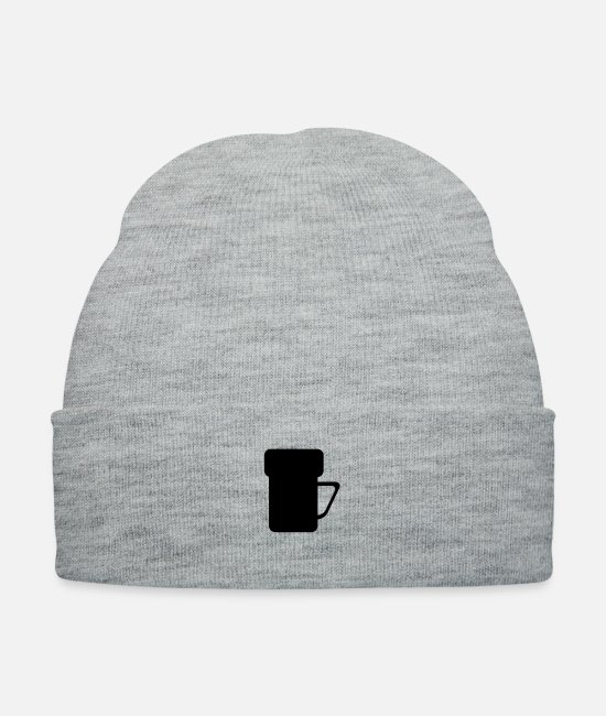 Knock Caps & Hats - Mug - Knit Cap heather gray