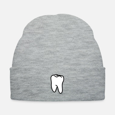 Tooth teeth - tooth - Knit Cap