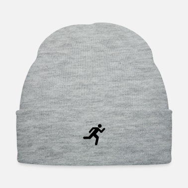 Person Running Person - Knit Cap