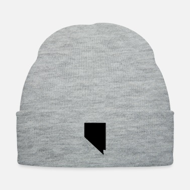Map Nevada map - Knit Cap