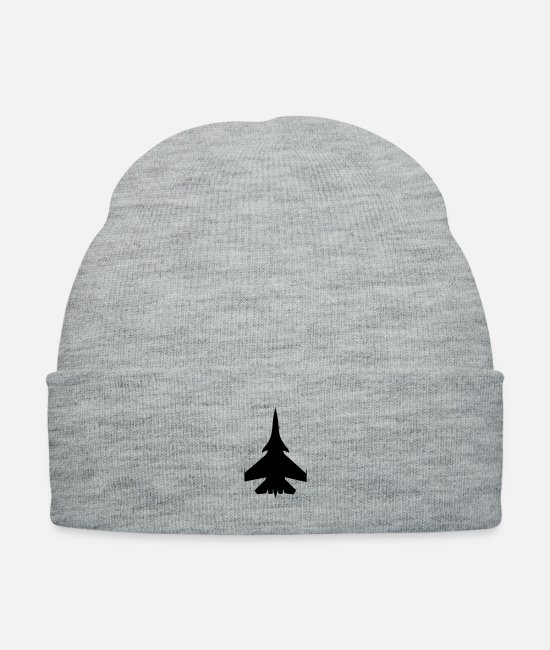 Airplane Caps & Hats - Aircraft - SU33 - Knit Cap heather gray