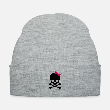 Girlie Small Girl Skull - Knit Cap