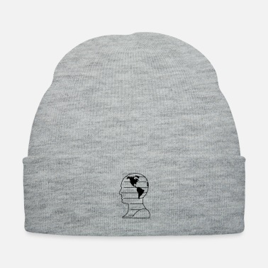 Ignore worldly mind - Knit Cap