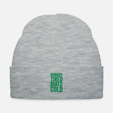 Hungry hungry_1c - Knit Cap