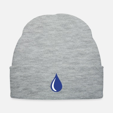 Motto tear - drop - rain drop - Knit Cap
