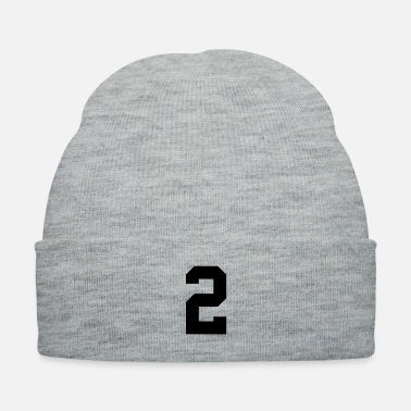 number 2 solid - Knit Cap