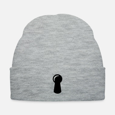 Neighborhood keyhole - door - Knit Cap