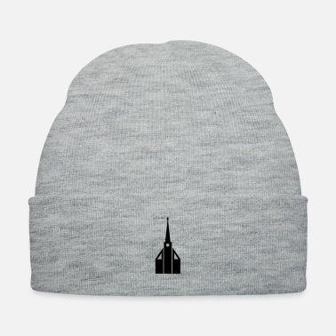 Church Church silhouette - Knit Cap