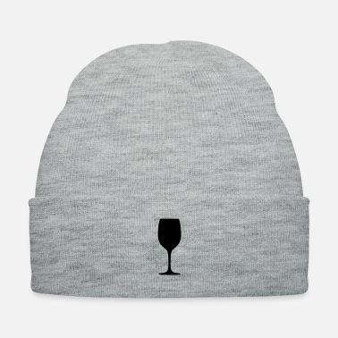 Wine wine glass - Knit Cap