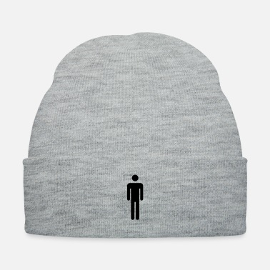 Bathroom stickman_by_rones - Knit Cap