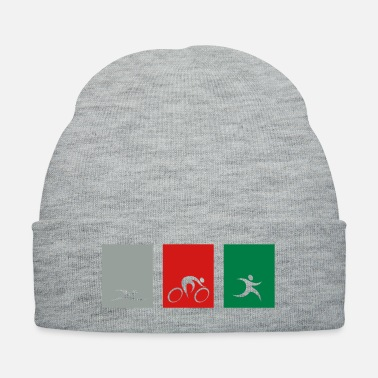 Triathlon spread_usa_triathlonicons_4_cs - Knit Cap