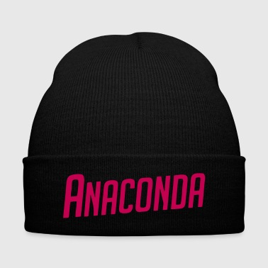 Anaconda - Knit Cap with Cuff Print
