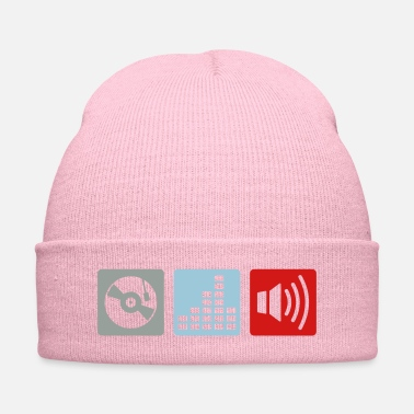 Turntable Music - DJ - Turntable Design - Knit Cap