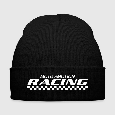 motoemotion original - Knit Cap with Cuff Print